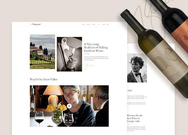 Vineyard Business Website