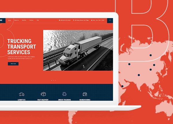 Transport Services Business Website