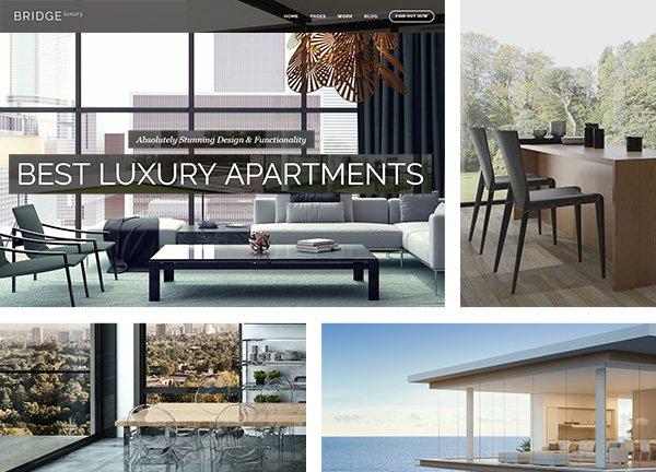 Estate Business Website