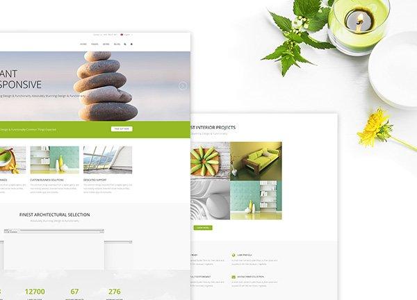 Light Business Website