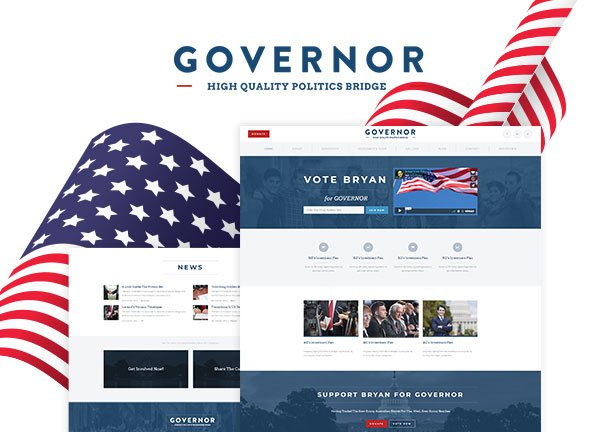 Campaign Business Website