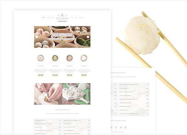 Dim Sum Business Website