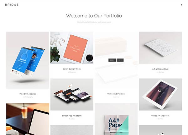 Pinterest Portfolio Website