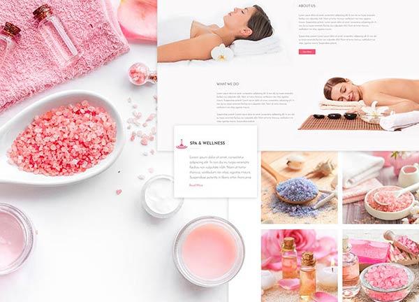 Wellness Business Website