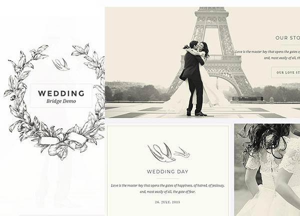 Wedding Business Website