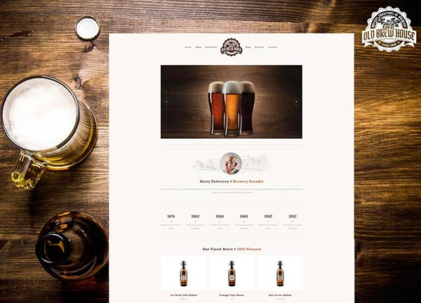 Brewery Online Store