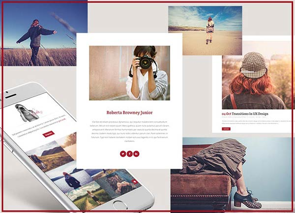 Creative Photography Portfolio Website