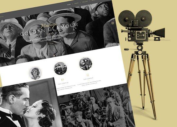 Black–And–White Creative Website