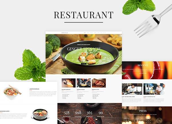 Restaurant Business Website