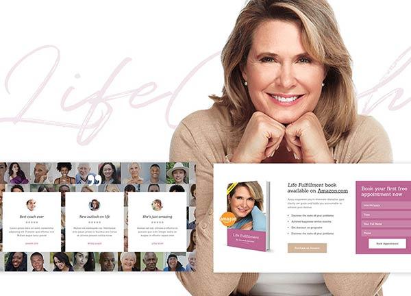 Life Coach Business Website