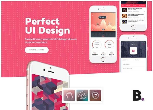 UX-UI Design Creative Website