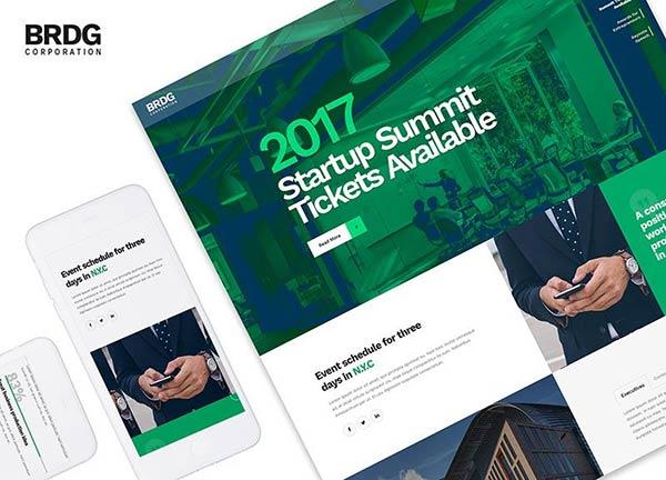 Startup Summit Business Website
