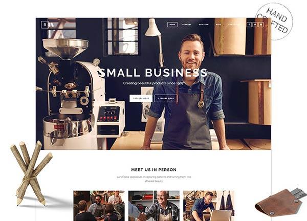 Craftsman Business Website