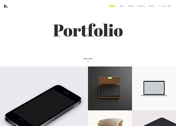 Freelance Designer Portfolio Website