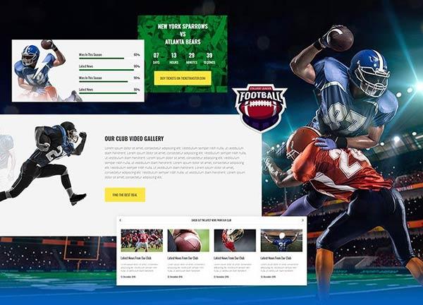 Football Business Website