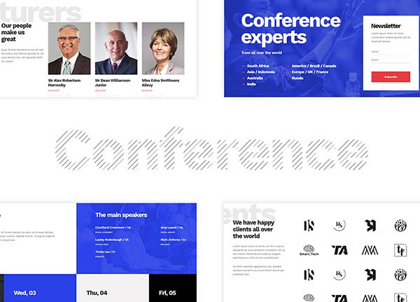 Business Conference Business Website