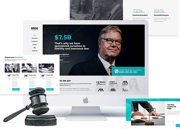 Attorney Business Website