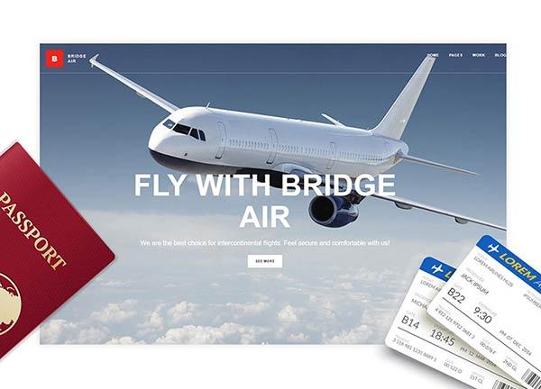 Air Business Website