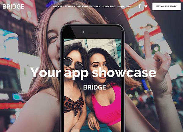App Showcase Creative Website