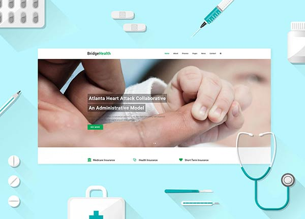 Health Business Website