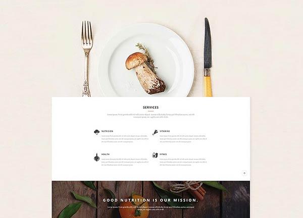 Organic Business Website