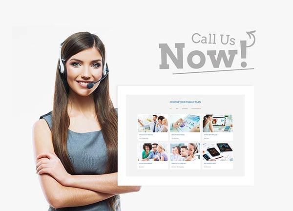 Telecom Business Website