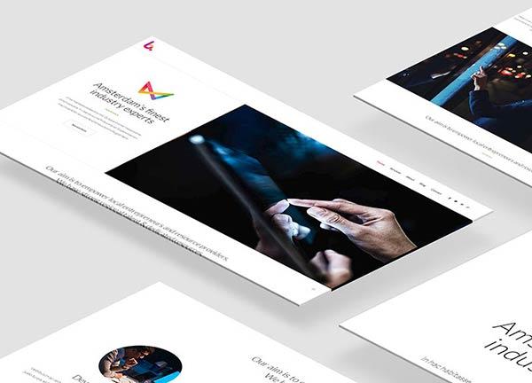 Web Agency Business Website
