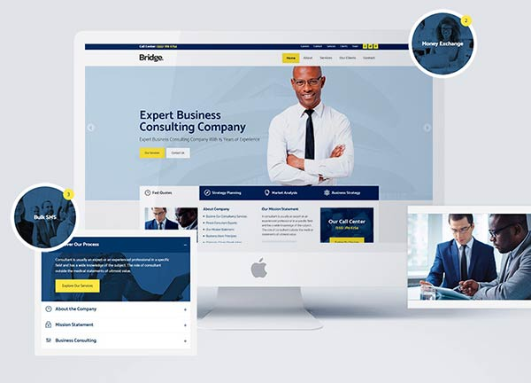 Business Consultant Business Website