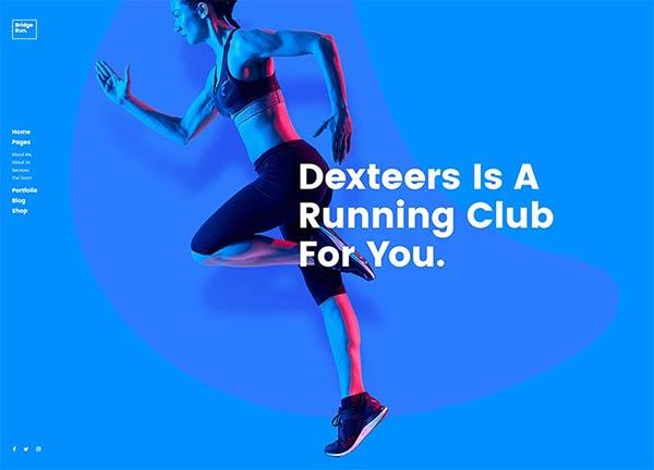 Running Club Business Website