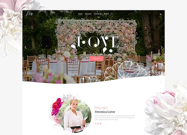 Wedding Planner Business Website