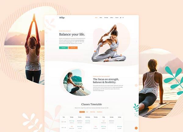 Yoga Center Business Website