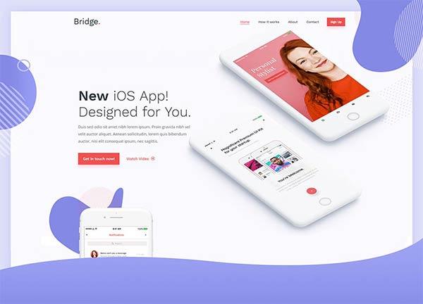 App Launch Creative Website