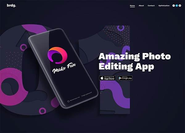 App Presentation Creative Website