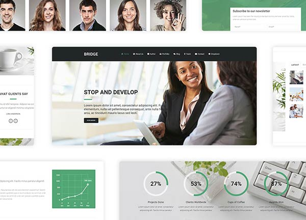 Office Business Website