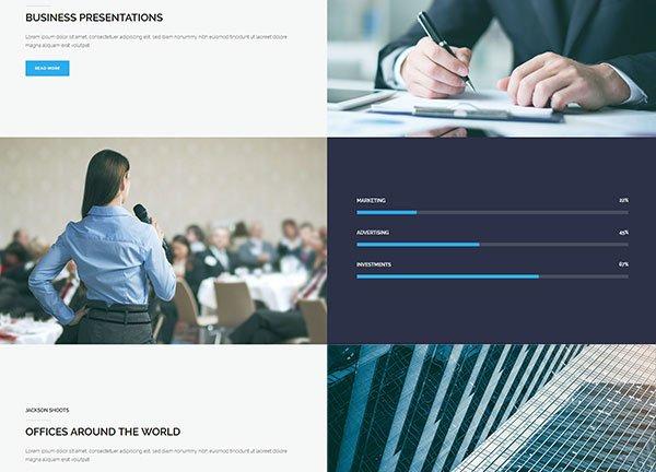 Modern Business Business Website