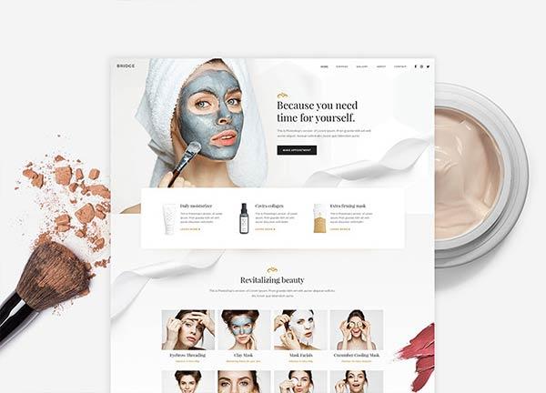Beauty Center Business Website