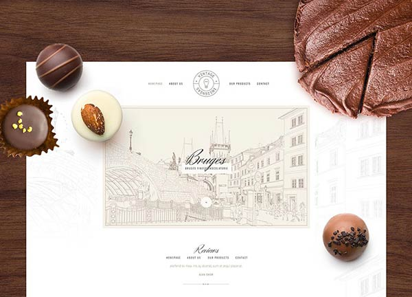 Chocolaterie Business Website