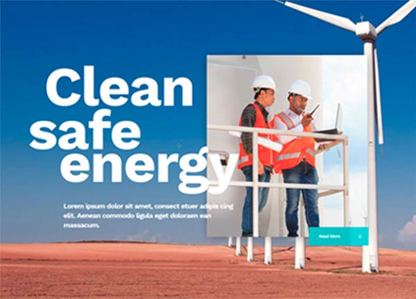 Clean Energy Business Website