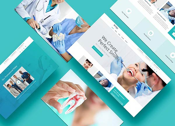 Dentist Business Website