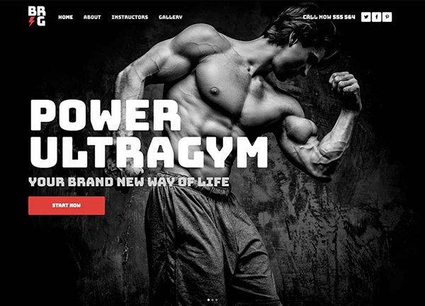 Ultragym Business Website