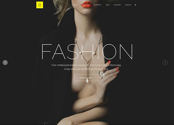Fashion Portfolio Website