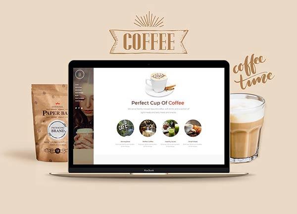 Cafe Business Website