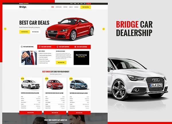 Car Dealership Business Website