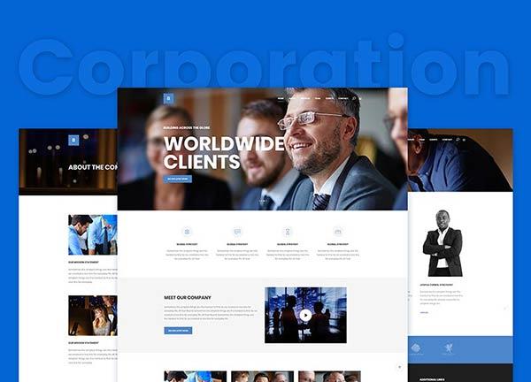 Corporation Business Website