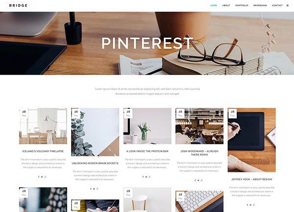 Blog Pinterest Style