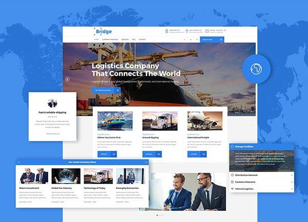 Transport Business Website