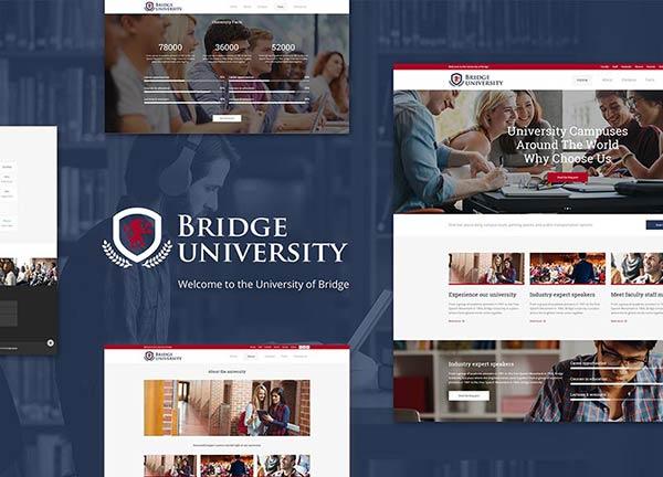 University II Business Website