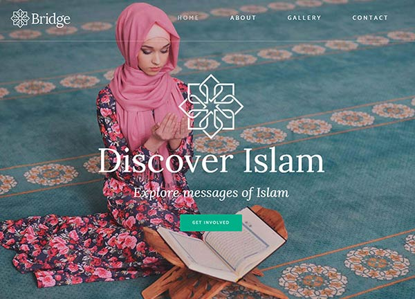 Mosque Business Website