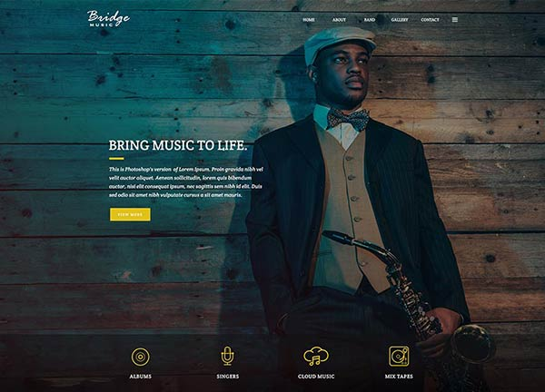 Jazz Creative Website