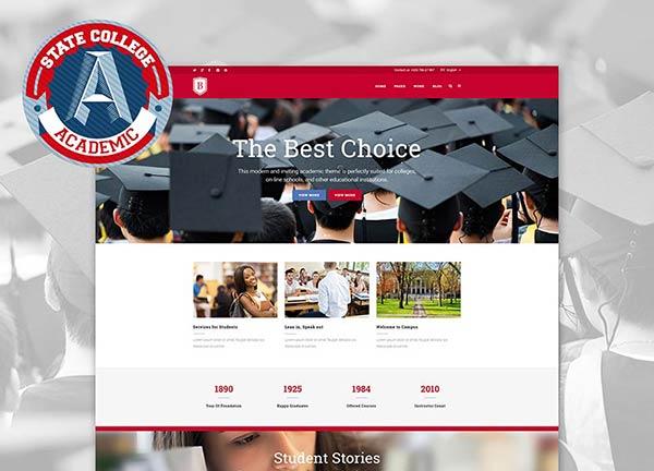 University Business Website